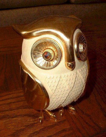 Vintage Japanese Owl Radio