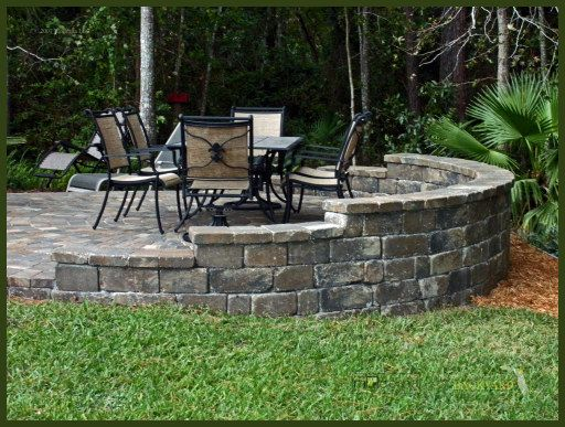 jacksonville pavers how to build on slopesjpg Patios Outdoor