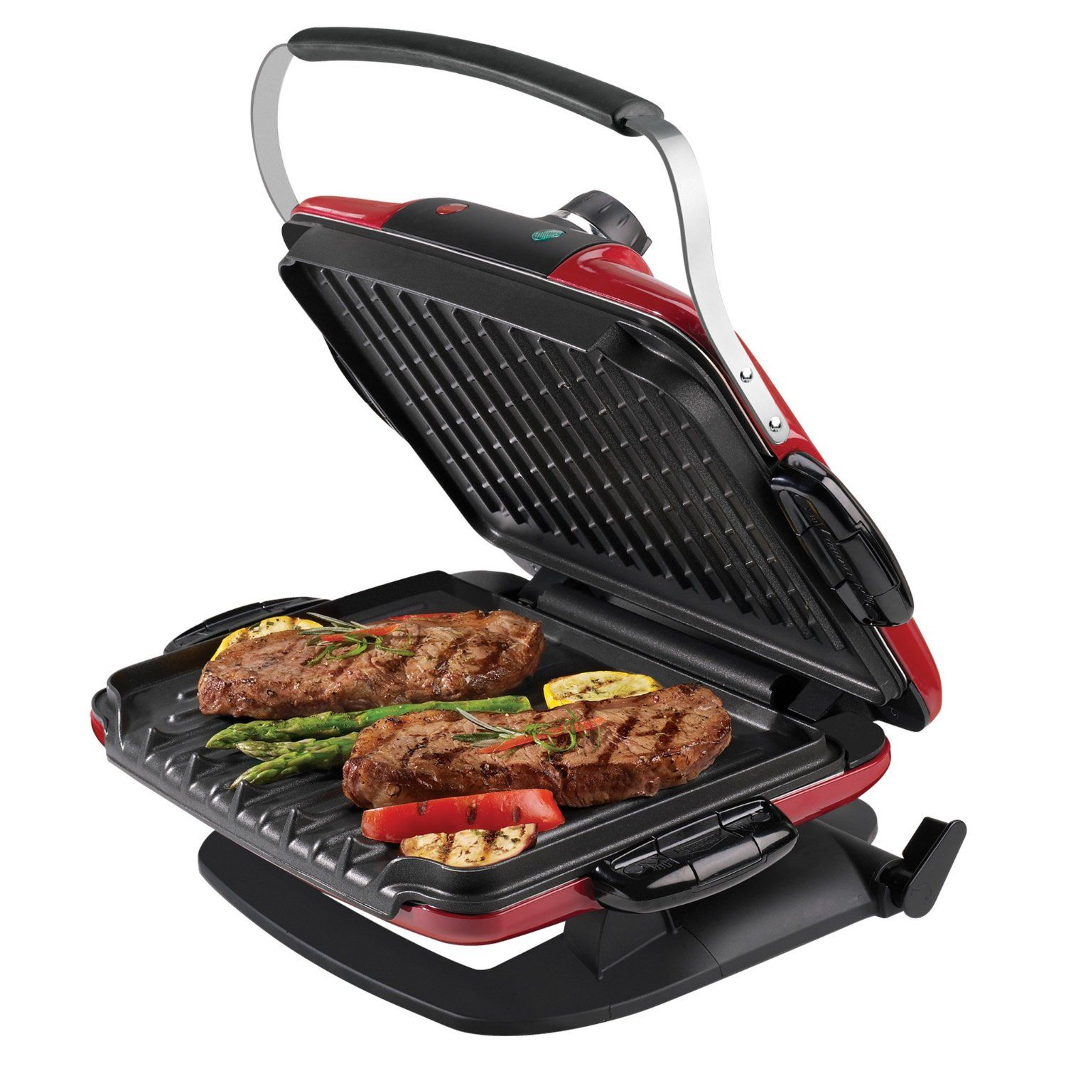 George Foreman GRP90WGR Next Grilleration Electric Nonstick Grill ...
