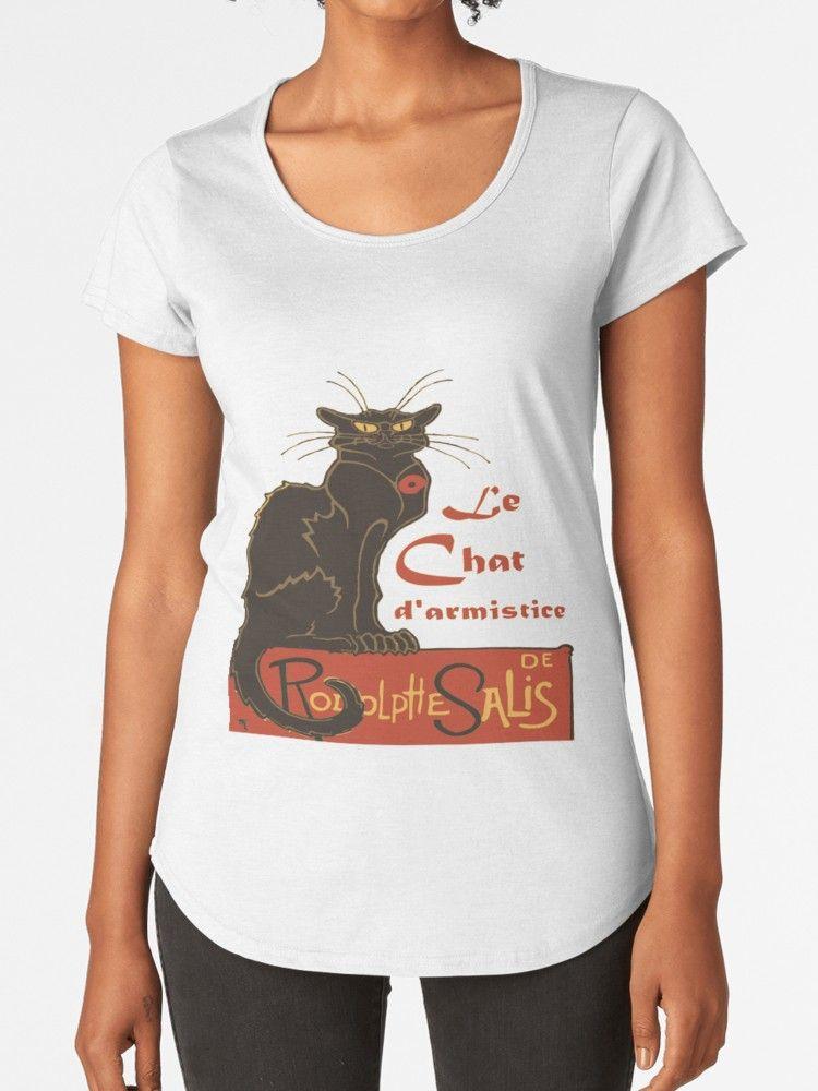 Tournee Du Chat Noir D Armistice Remembrance Day Premium Scoop T Shirt By Taiche T Shirt Colorful Tee Tshirt Colors