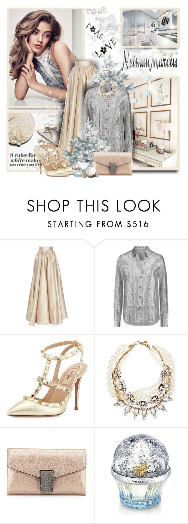 """""""The Holiday Wish List With Neiman Marcus"""" by sneky ❤ liked on Polyvore featuring Jenny Packham, Neiman Marcus, STELLA McCARTNEY, Valentino, Lulu Frost, Brunello Cucinelli, House of Sillage and NMgifts"""