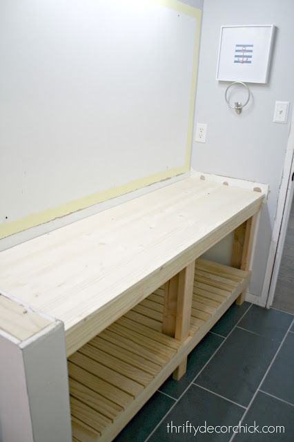 How To Build A Diy Open Bathroom Vanity Open Bathroom Vanity Open Bathroom Bathroom Cabinets Diy
