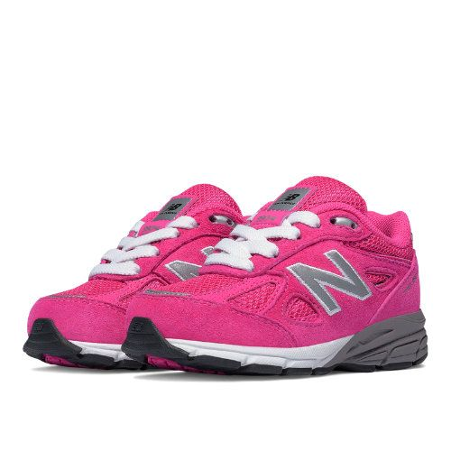 New Balance Kid/'s 990V4 Big Kids Female Shoes Pink