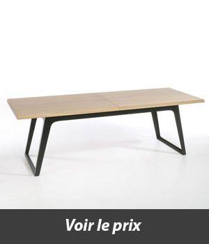 Table Style Industriel Avec Rallonges Quel Modele Choisir Style Industriel Table Basse Et Decoration