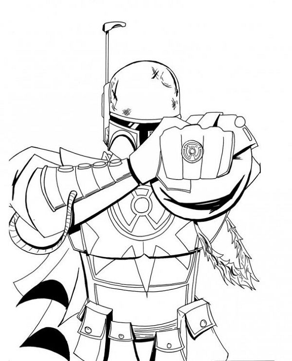 star wars coloring pages count dooku | coloring kids | Pinterest