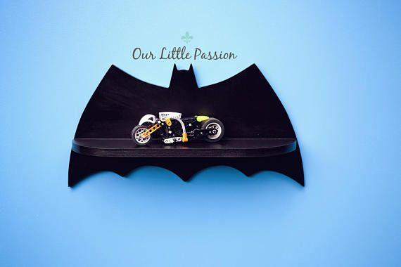 Batman Shelf, Shelf For Baby Nursery, Kids Room, Wall