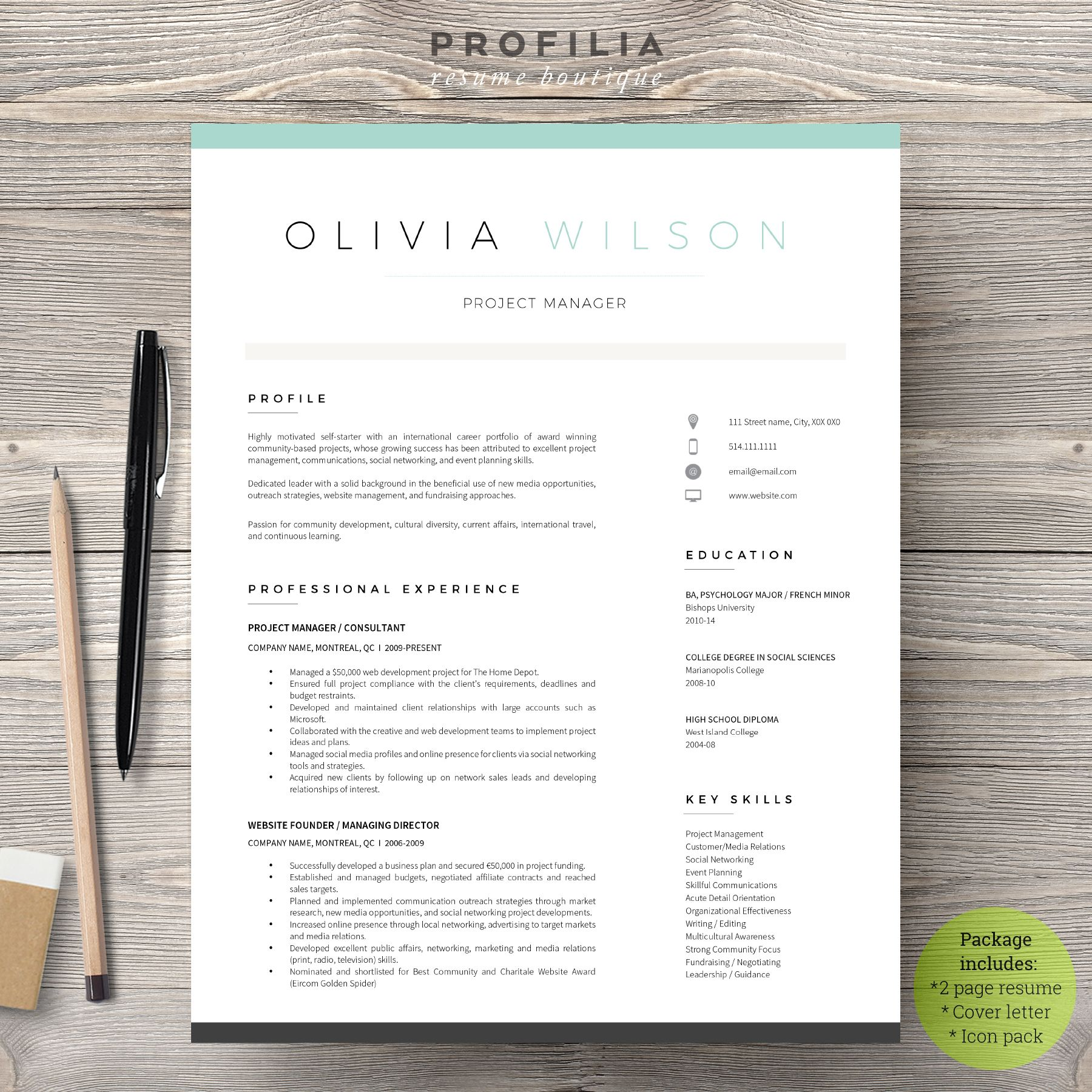 Modern Resume Template Free Simple Free Modern Resume Template