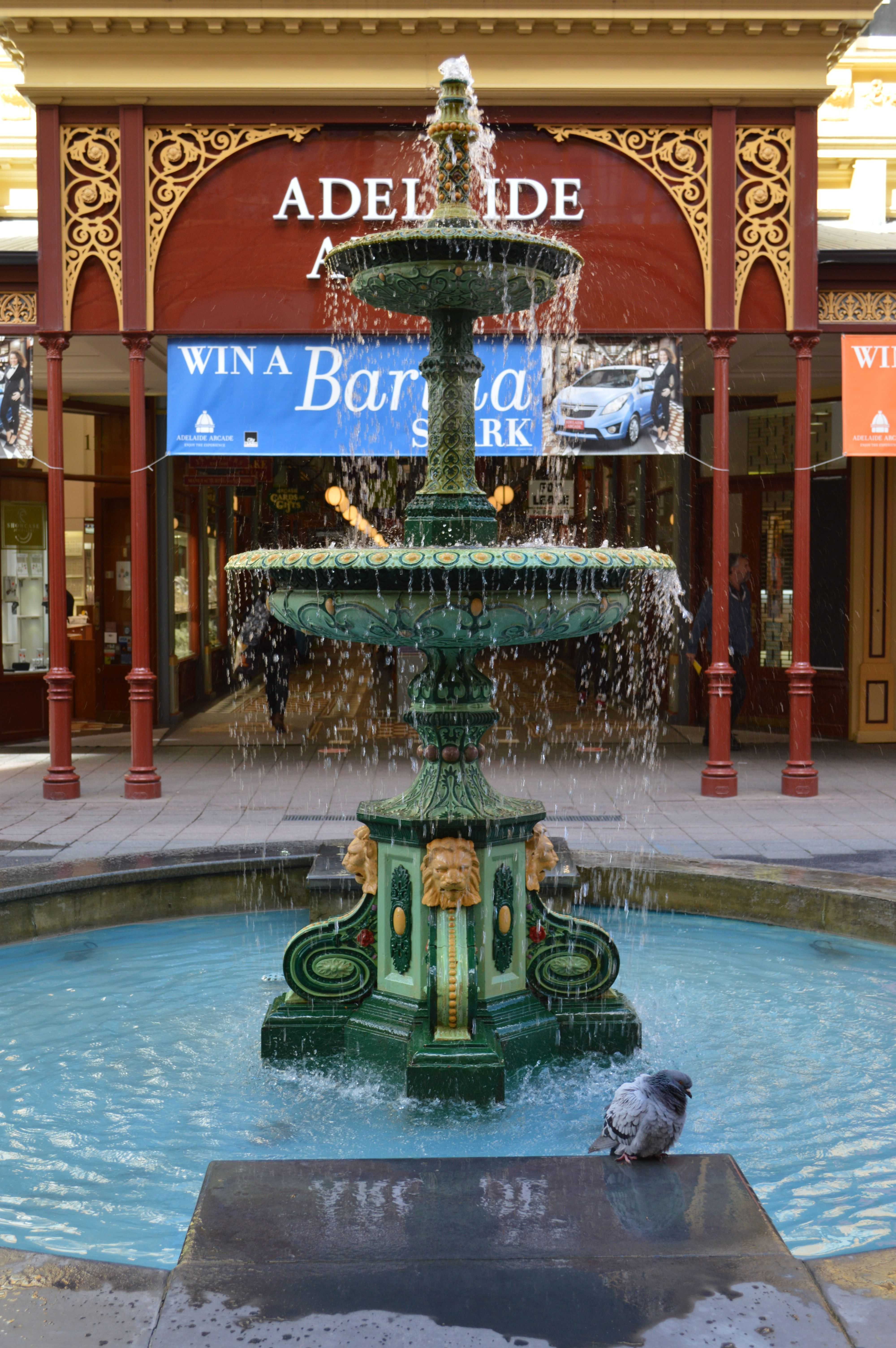 Water fountains adelaide - Cities