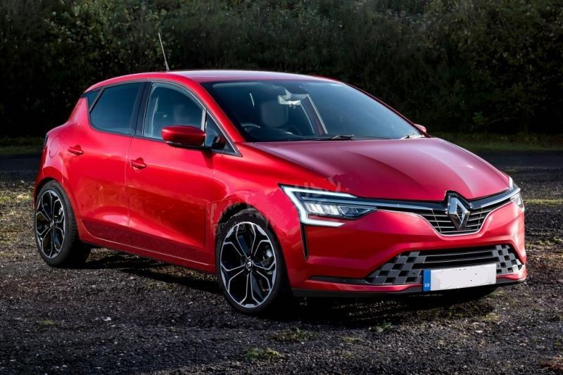 2019 Renault Clio Spotted Under The Heavy Camouflage Rendering