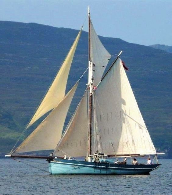 Isles of Scilly pilot cutter.