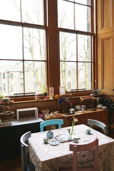 Laura S Bright And Beautiful Victorian Duplex In Glasgow Kitchen Inspirations House Victorian Townhouse