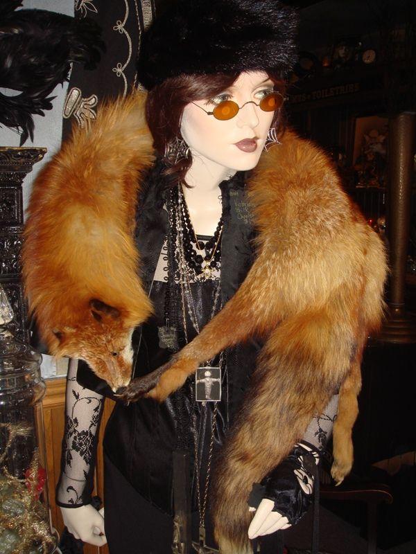 Fox Stole Fluffy Soft And Warm Vintage Fox Stole Wear