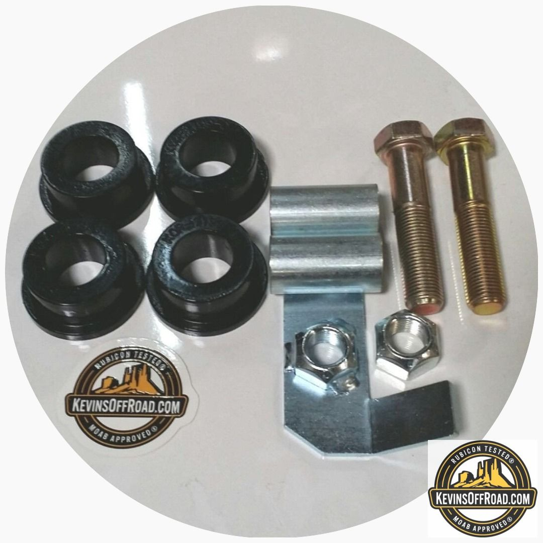 Kor 1189 S Kit Super Hard Rockwell Durometer 75d Bushings With Sleeves Lift Kits Jeep Parts Jeep
