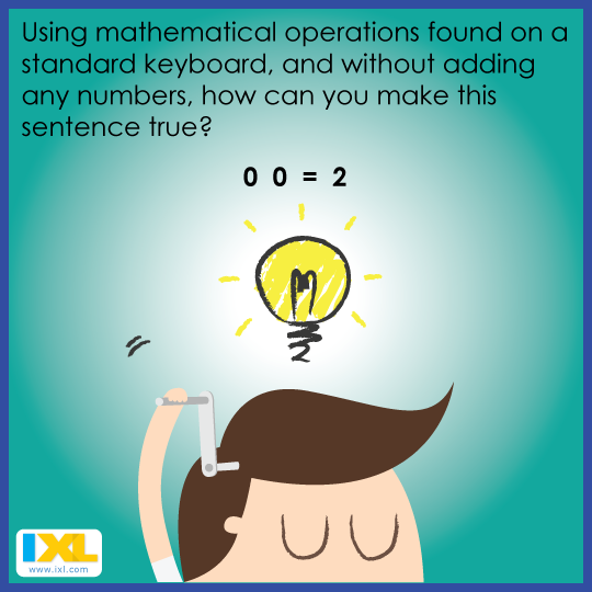 Can you solve this math brain teaser? (Answer here: https://www ...