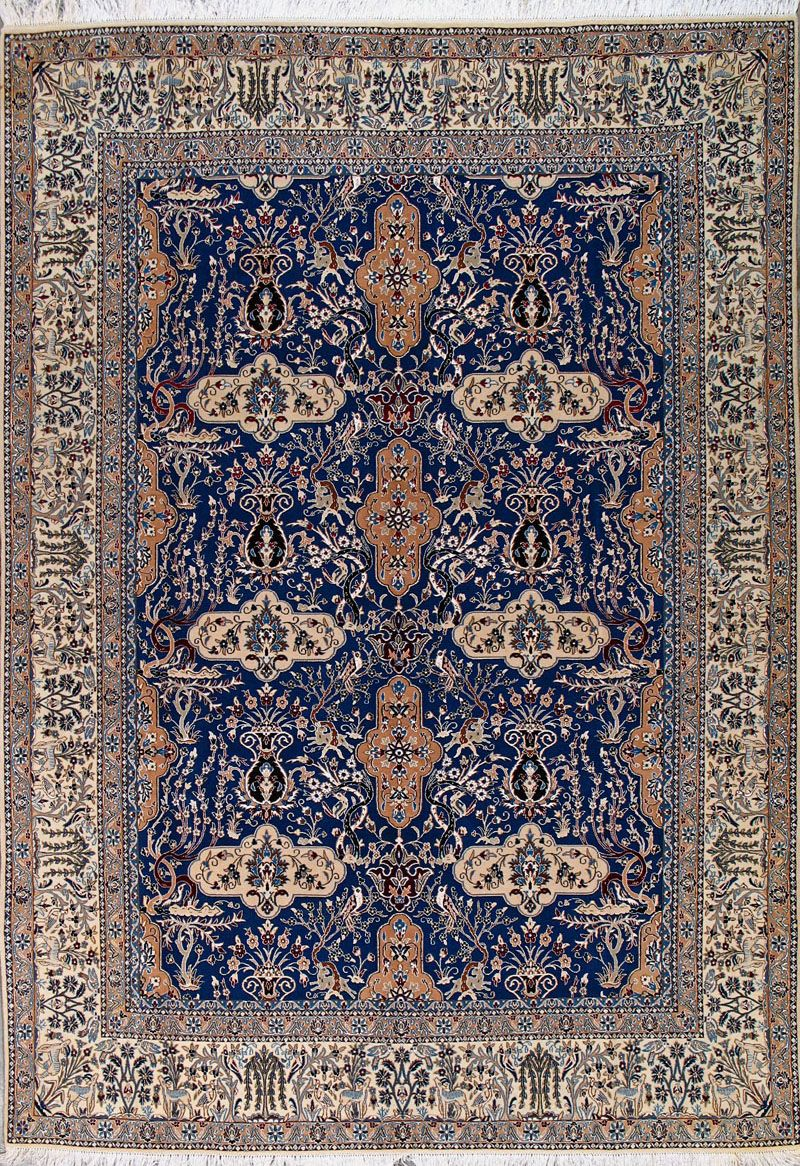 Persian Rug Blue Home Decor