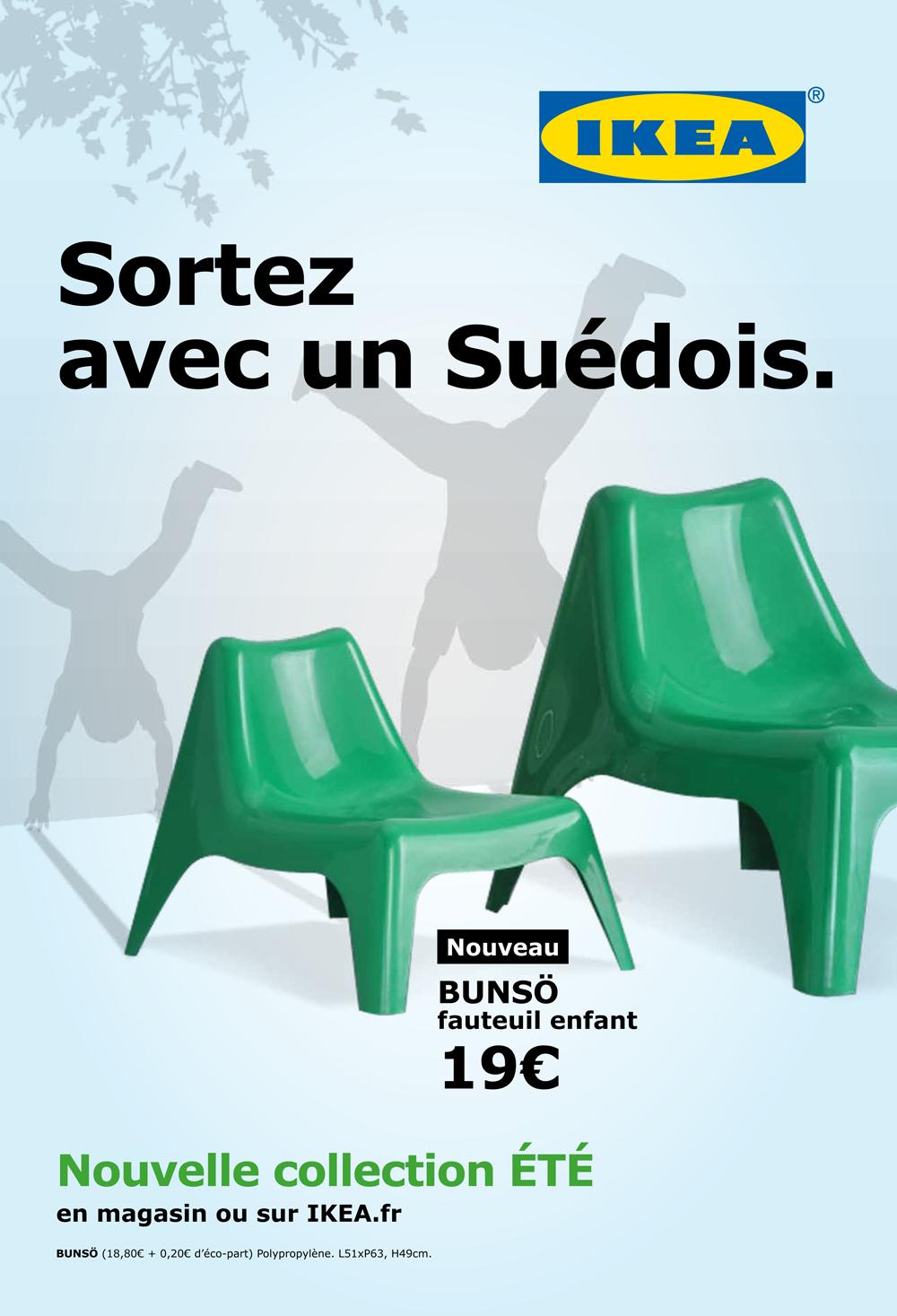Campagne Printemps 2015 Sortez Avec Un Su Dois Ikea  # Ikea Annonce Publicite