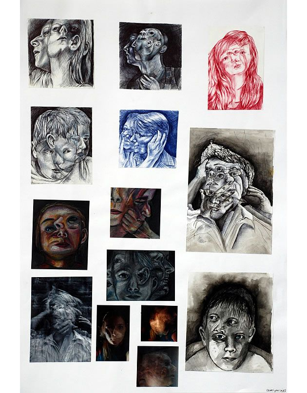 Distortion Of Form A Level Art Sketchbook Preparation And Final Piece Advanced Higher Dissertation Examples