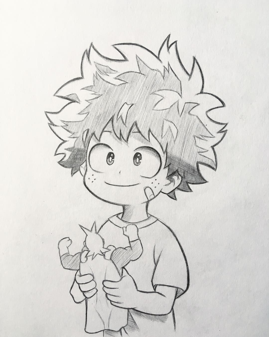 "Photo of Anime and Manga drawing ✒️ on Instagram: ""New sketch of Midoriya! ? As …"