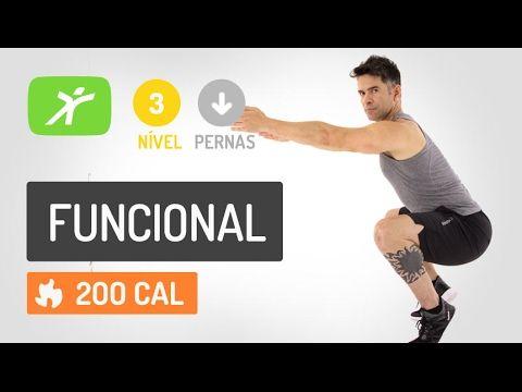 TREINAMENTO FUNCIONAL INTENSO COM O PESO DO CORPO ! - YouTube