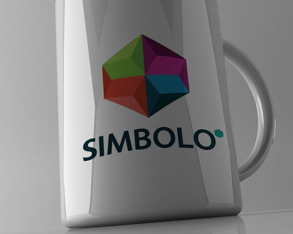Simbolo* Branding | Mug | They Provide programming, software engineering, & design services for web-based applications. | New symbol based on hexagon. Hexagonal patterns are prevalent in nature due to their efficiency. | The hexagon is one of the world's most ancient, magical symbols. Hexagon is aligned with number 6. Meaning of 6 in Western numerology - a quick reference: Union-Harmony-Perfection-Integration-Interfacing-Communication. | Lukasz Kulakowski | Image 25 of 35