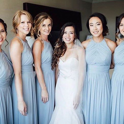 Super Chic And Soft These Cloudy Blue Dresses Are The Perfect