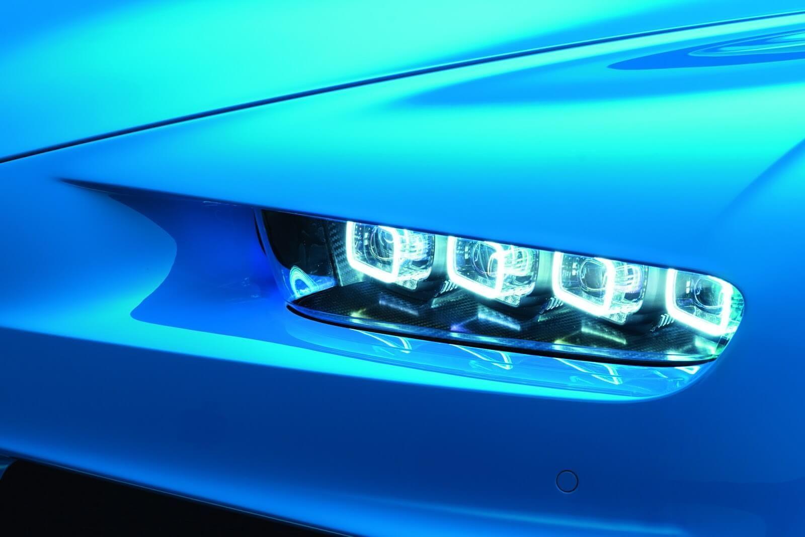 Bugatti chiron headlights