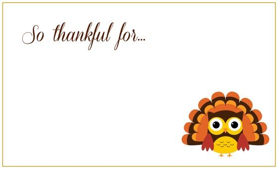 Printable Thanksgiving Placecards Thanksgiving Place Cards Thanksgiving Printables Cute Thank You Cards