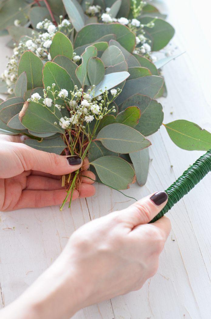 Photo of Eukalyptus-Hochzeit – Teil 2: Tischgirlande selber binden