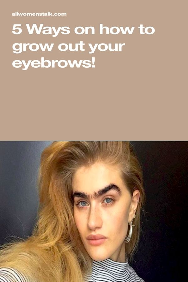 How To Shape Your Eyebrows   Eyebrow Brush Filler ...