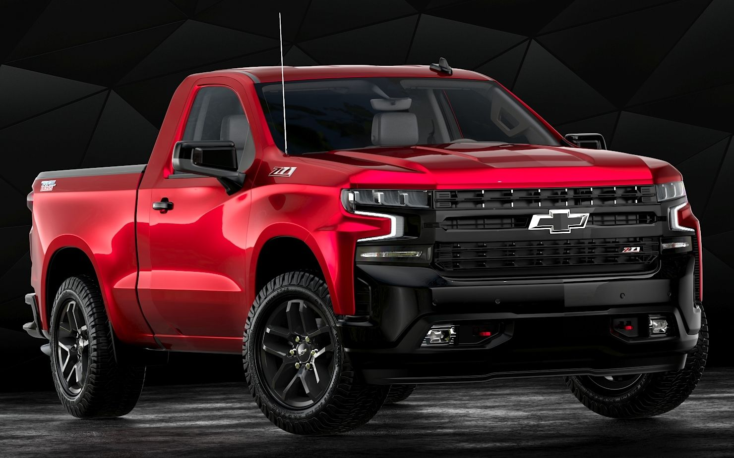 2019 Chevrolet Silverado Regular Cab Short Bed Lt Trail Boss