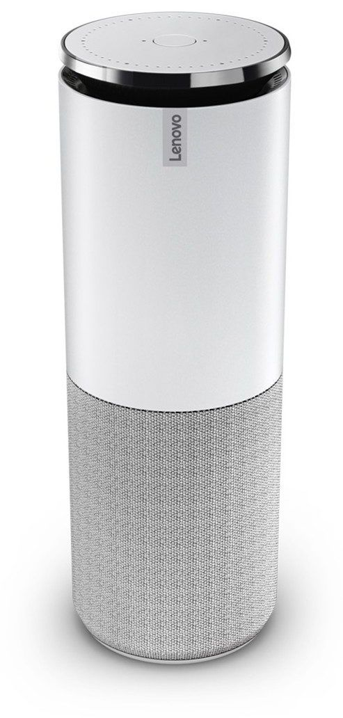 Lenovo Smart Assistant: Sieht ein wenig aus wie Amazon Echo und nutzt auch Alexa.