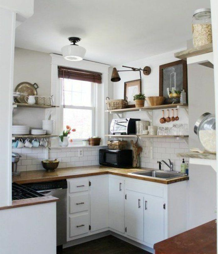 Cuisine Element: Comment Aménager Une Petite Cuisine? Idées En Photos