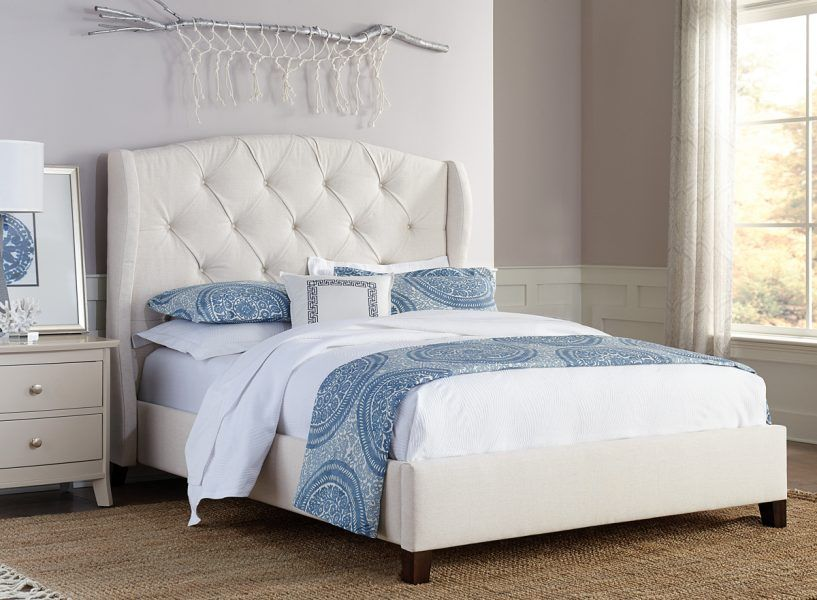 Up to 33 Off Lily Fabric Wing Bed in 2018 Amish Beds Pinterest