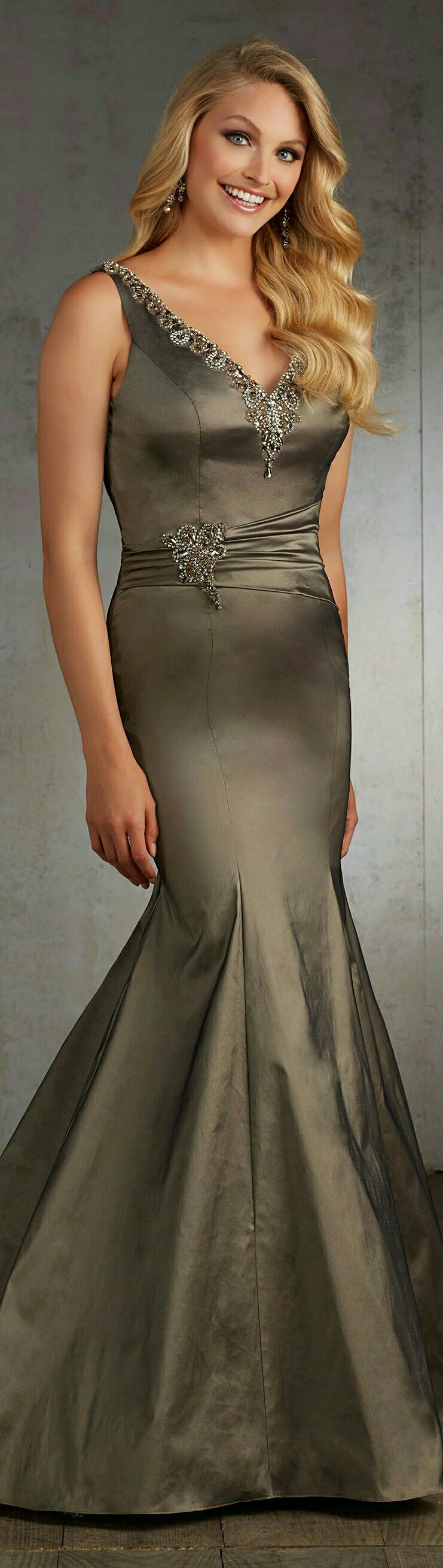 MORI LEE | For Madeleine Gardiner In Bronze Mermaid-Style | #71532 ...