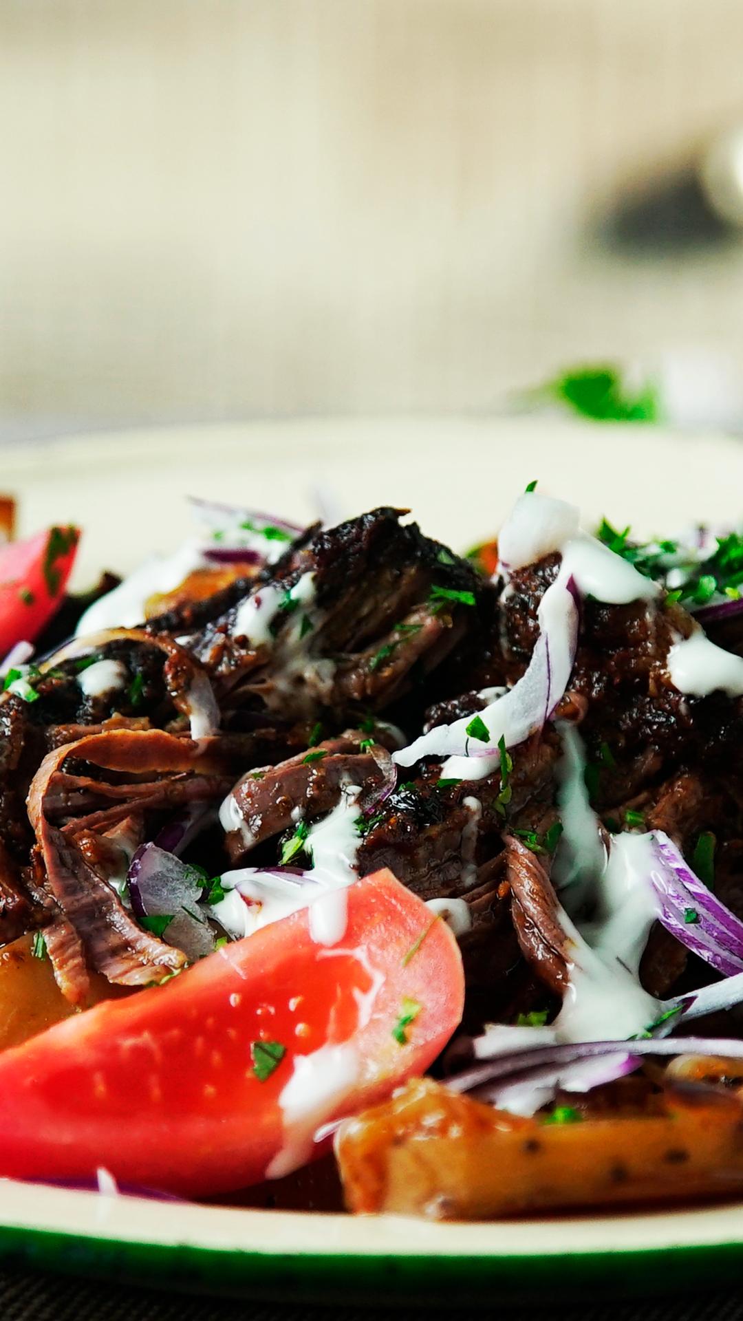 Shredded Steak with Vegetables