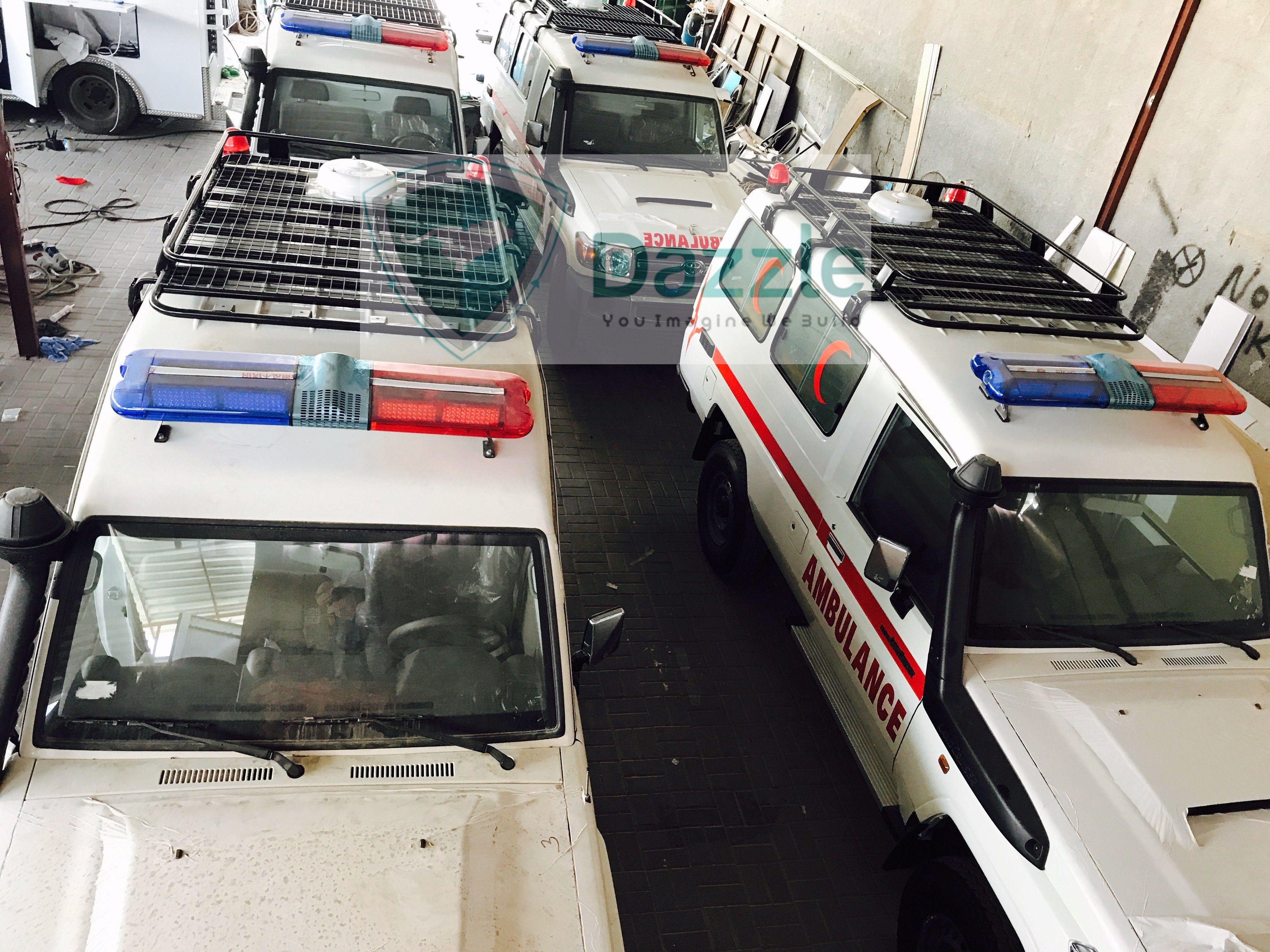 Brand New YM 2018 Toyota Land Cruiser VDJ 78 V8 4.5L Diesel Ambulance  Contact US