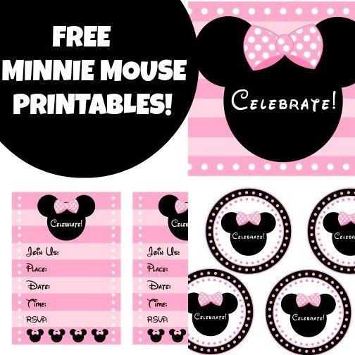 Wonderful Free Pink Minnie Mouse Printables And More! U2013 Free Party Printables At  Printabelle