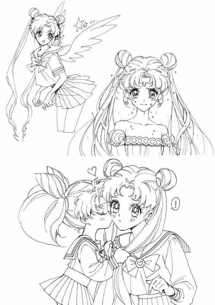 Pin de Stefan BM en Sailor Moon   Pinterest   Sailoor moon, Sailor ...