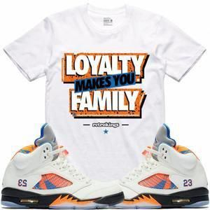 402e423d425a Air Jordan 5 Barcelona Sneaker Tees Shirt - LOYALTY RK  MensFashionSneakers