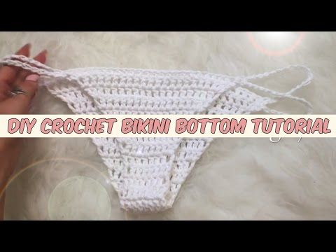 DIY CROCHET BIKINI BOTTOM TUTORIAL