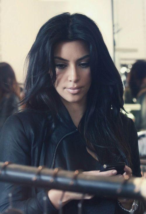 Kim Kardashian Black Hair Can T Decide If I Should Dye My Hair