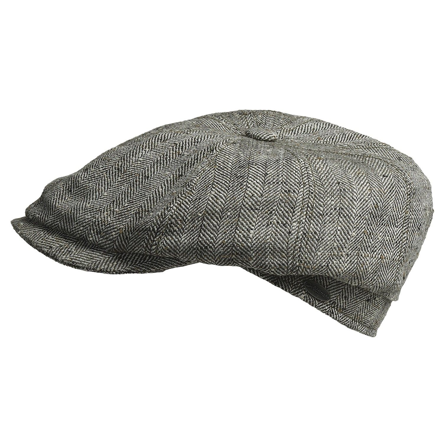 83d7c307a33 Gottmann Kingston Driving Cap - Silk (For Men) in 13 Grey