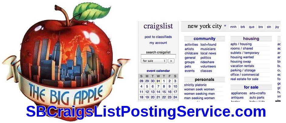 NY City AD Posting Service Small Business Craigslist