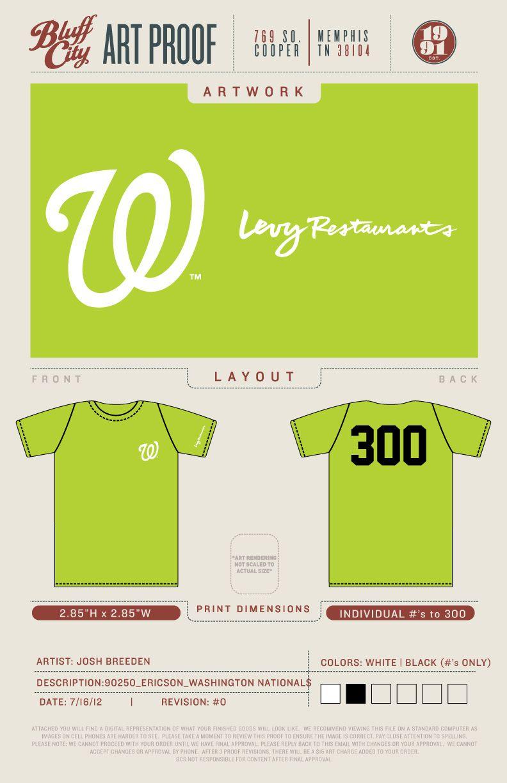 T Shirt Washington Nationals Nationals Park National