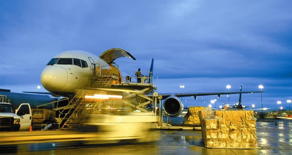 Air freight is the fastest way of transporting goods