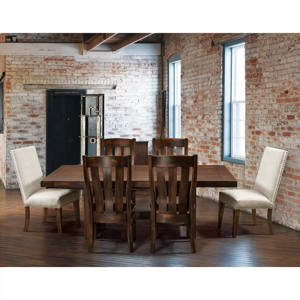 Dining Room Furniture Collections Amish Country Heirlooms Arthur Il Dining Room Furniture Collections Parsons Dining Chairs White Oak Table