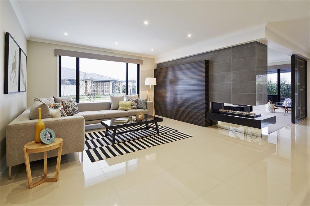 Weißer Spiegelnder Fußboden Wohnzimmer Bauhaus Art Deco - fliesen braun wohnzimmer