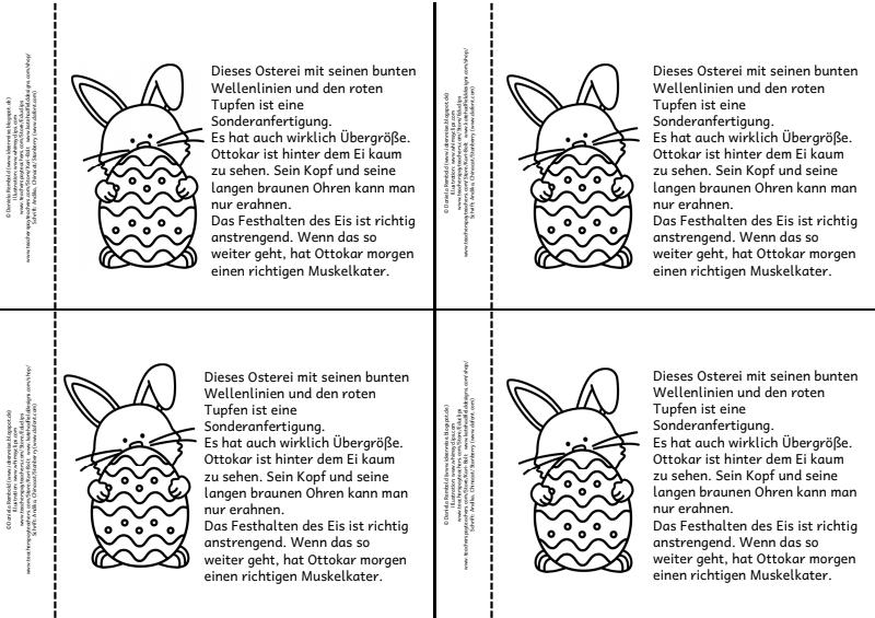 Seite 3 von 13 Lesen, Frühling, Ostern