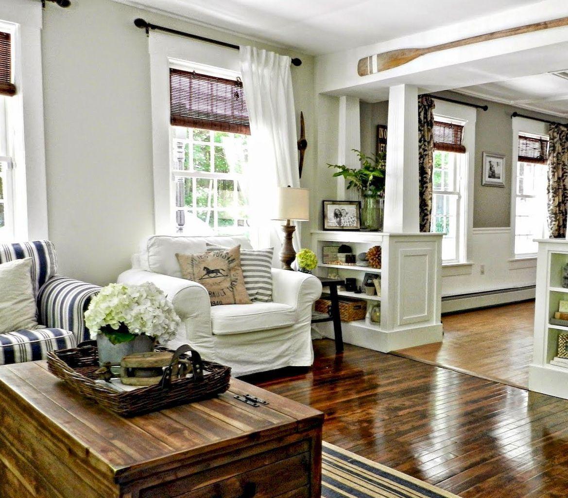 25 Modern Farmhouse Curtains for Living Room Decorating ... on Farmhouse Curtain Ideas For Living Room  id=37555