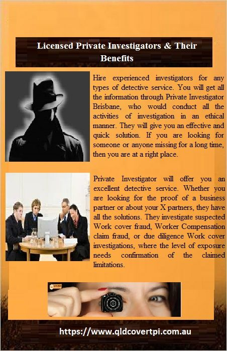 Hire Experienced Investigators For Any Types Of Detective Service